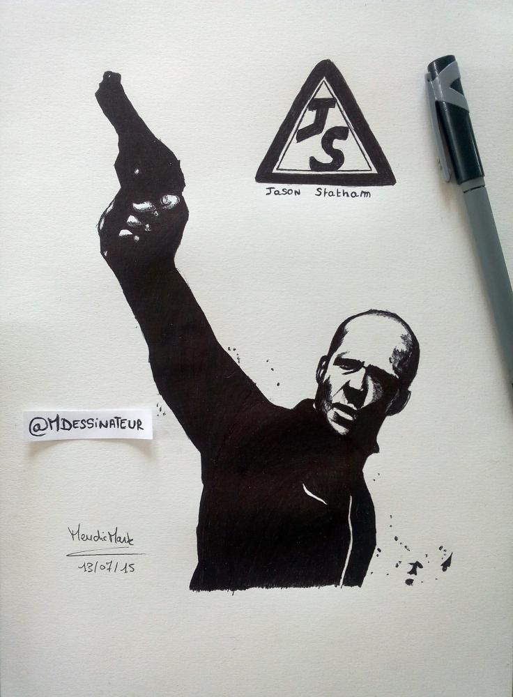 Jason Statham by MisterDessinateur45